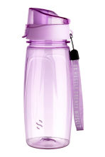 Water bottle with lid - Lilac - Men | H&M CN 1