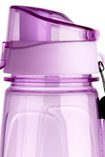 Water bottle with lid - Lilac - Men | H&M 2