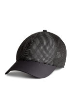 Reflective sports cap - Black - Ladies | H&M CN 1