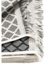 Jacquard-weave bath towel - Anthracite grey -  | H&M CN 3