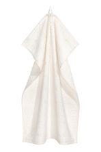 Jacquard-weave hand towel - White - Home All | H&M IE 1