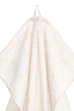 Serviette tissée jacquard - Blanc - Home All | H&M FR 2