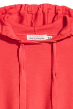 Knitted hooded jumper - Coral red - Ladies | H&M 3