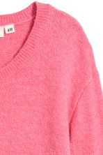 Knitted jumper - Pink - Ladies | H&M 3