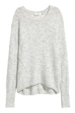 Knitted jumper - Light grey - Ladies | H&M IE 2