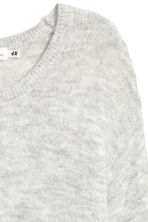 Knitted jumper - Light grey - Ladies | H&M IE 3