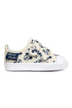 Trainers - Light beige/Mickey Mouse - Kids | H&M 1