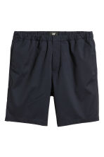 Knee-length elasticated shorts - Dark blue - Men | H&M CN 2