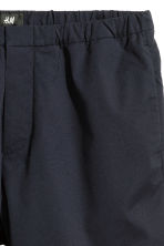 Knee-length elasticated shorts - Dark blue - Men | H&M CN 3