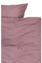 Cotton duvet cover set - Heather - Home All | H&M CA 2