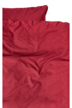 Cotton duvet cover set - Dark red - Home All | H&M CN 2