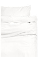Cotton duvet cover set - White - Home All | H&M CN 2