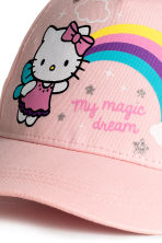 Printed cap - Light pink/Hello Kitty - Kids | H&M CA 3