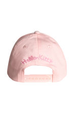 Printed cap - Light pink/Hello Kitty - Kids | H&M CA 2