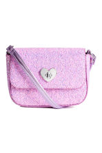Glittery shoulder bag - Purple - Kids | H&M 1