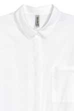 Oversized shirt - White - Ladies | H&M CN 3