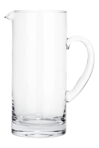 Carafe en verre - Transparent - HOME | H&M BE