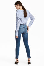 Skinny Regular Ankle Jeans - Denim blue trashed - Ladies | H&M 4