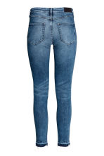 Skinny Regular Ankle Jeans - Denim blue trashed - Ladies | H&M 3