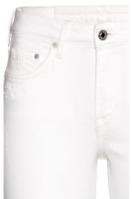 Skinny Regular Ankle Jeans - White denim - Ladies | H&M 4