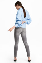 Skinny Regular Ankle Jeans - Grey denim - Ladies | H&M CN 5