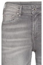 Skinny Regular Ankle Jeans - Grey denim - Ladies | H&M CN 6