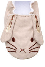 Soft slippers - Beige/Rabbit -  | H&M CA 5