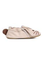 Soft slippers - Beige/Rabbit -  | H&M CA 2