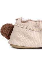 Soft slippers - Beige/Rabbit -  | H&M CA 4