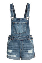 Denim salopette - Denimblauw - DAMES | H&M BE 2