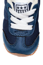 Mesh trainers - Dark blue -  | H&M 3
