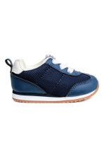 Mesh trainers - Dark blue -  | H&M 1