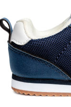 Mesh trainers - Dark blue -  | H&M 4