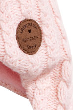 Fleece-lined hat - Light pink - Kids | H&M CN 2