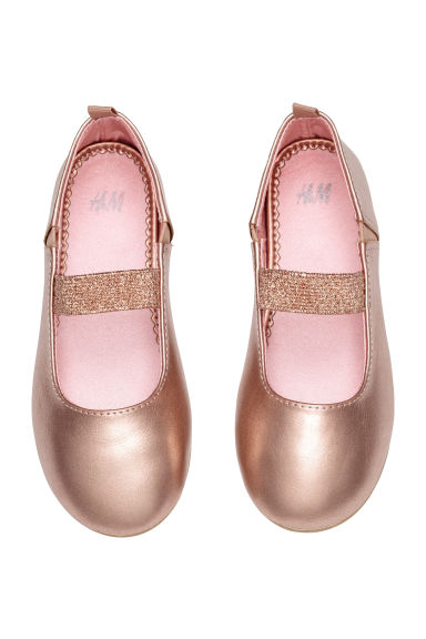 Ballet pumps - Rose gold - Kids | H&M 1