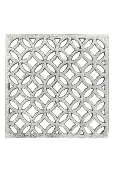 Metal trivet - Silver - Home All | H&M CN 1