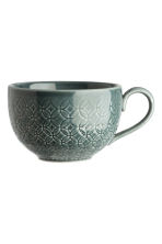 Textured cup - Dark green - Home All | H&M CN 1