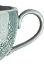 Textured cup - Dark green - Home All | H&M CN 2
