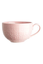Textured cup - Light pink -  | H&M IE 1