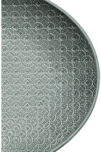 Texture-patterned Plate - Dark green - Home All | H&M CA 2