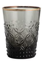 Textured tumbler - Anthracite grey - Home All | H&M CN 1