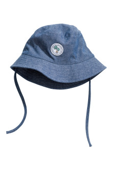 Cotton chambray sun hat