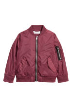 Bomber jacket - Burgundy - Kids | H&M CA 2