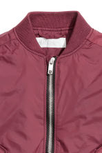 Bomber jacket - Burgundy - Kids | H&M CA 3