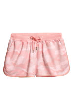 Patterned shorts - Light pink - Ladies | H&M CA 2