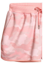 Patterned shorts - Light pink - Ladies | H&M 3