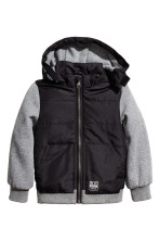Black/Grey marl