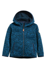 Knitted fleece jacket - Blue marl - Kids | H&M 2