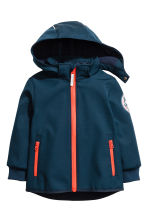 Softshell jacket - Dark blue/Tiger - Kids | H&M 2