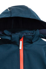 Softshell jacket - Dark blue/tiger - Kids | H&M CA 5